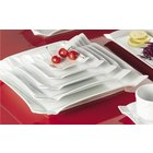 CAC Times Square Bright White China Dinnerware