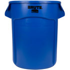 Rubbermaid FG262000BLUE BRUTE 20 Gallon Blue Trash Can