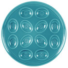 Homer Laughlin 724107 Fiesta Turquoise 11 1/4 inch Egg Tray - 4 / Case