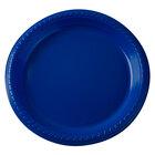 Dart Solo PS75B-0099 7 inch Blue Plastic Plate 500/Case