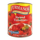 Furmano's #10 Can Stewed Tomatoes - 6/Case