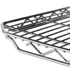 Metro 1848QC qwikSLOT Chrome Wire Shelf - 18 inch x 48 inch