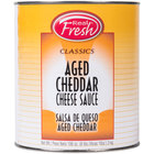 Advanced Food Products A5RFD1-BK #10 Can Aged Cheddar Nacho Cheese Sauce - 6/Case