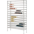 126 Bottle Metro WC237C Super Erecta Cradle Wine Rack 36 inch x 14 inch x 74 3/4 inch