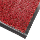 Cactus Mat 1437M-R46 Catalina Standard-Duty 4' x 6' Red Olefin Carpet Entrance Floor Mat - 5/16