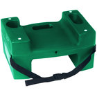 Koala Kare Booster Buddies KB116-S-06 Green Plastic Booster Seat - Dual Height with Safety Strap - 5/Pack