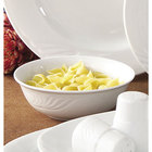 CAC RSV-120 Roosevelt 24 oz. Super White Porcelain Pasta Bowl - 12 / Case