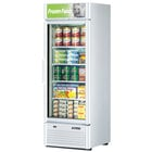 Turbo Air TGF-23SD White 27 inch Super Deluxe Single Door Merchandiser Freezer - 21.1 Cu. Ft.