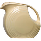 Homer Laughlin 484330 Fiesta Ivory 2.1 Qt. Large Disc Pitcher - 2 / Case