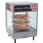 Nemco 6451-2 Self-Serve Rotating 3-Tiered Pizza Merchandiser 18 inch Racks 120V