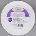Wilton 302-4102 Decorator Preferred Round Smooth Edge Cake Separator Plate - 8 inch