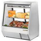 True TDBD-48-2 48 inch Two Door Double Duty Refrigerated Deli Case - 28 Cu. Ft.