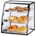 Cal-Mil 1708-1014 Iron Curved Self-Service Display Case - 16 inch x 15 inch x 17 1/4 inch