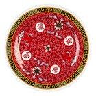 Longevity 6 7/8 inch Round Melamine Plate - 12/Pack