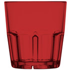 GET 9909-1-R Bahama 9 oz. Red Break-Resistant Plastic Tumbler - 72/Case