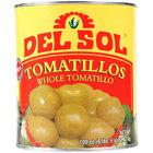 Del Sol Whole Tomatillos #10 Can