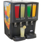 Crathco G-Cool Mini Quattro C-4D-16 Quadruple 2.4 Gallon Bowl Premix Cold Beverage Dispenser