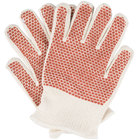 San Jamar ML5000 Hot Mill Knit Gloves   - 2/Pack