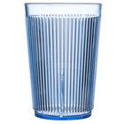 Carlisle 401054 Blue Crystalon SAN Tumbler 9.5 oz. - 12 / Pack