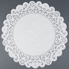 12 inch Lace Normandy Grease Proof Doilies 500 / Pack