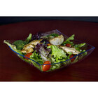 Fineline Wavetrends 128-CL Clear Plastic Serving Bowl 128 oz. - 25/Case
