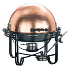 American Metalcraft MESA91C 6 Qt. Round Roll Top Chafer with Hammered Copper Cover