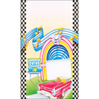 8 1/2 inch x 11 inch Menu Paper - Retro Themed Jukebox Design Cover - 100/Pack