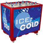 Red Ice Saver 060 Mobile 100 qt. Frost Box with Casters