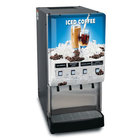 Bunn 37300.0020 JDF-4S LD 4 Flavor Cold Beverage Iced Coffee Dispenser with Lit Door - 120V