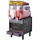 Cecilware FrigoGranita MT2ULAFBL Black Double 2.5 Gallon Slush Machine - 120V