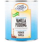 Cafe Classics Trans Fat Free Vanilla Pudding #10 Can