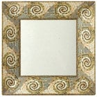 GET ML-104-MO Mosaic 10 inch Square Plate - 12/Pack