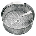 Tellier P10020 5/64 inch Perforated Replacement Sieve for 15 qt. Food Mill on Stand - Tinned Steel