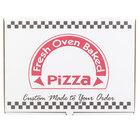 17 inch x 12 inch Corrugated Pizza Box - 50 / Case