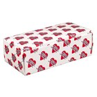 5 1/2 inch x 2 3/4 inch x 1 3/4 inch 1-Piece 1/2 lb. Heart Candy Box - 250/Case