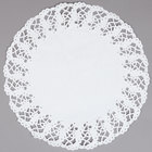 Hoffmaster 500259 14 1/2 inch Lace Doily - 1000/Case