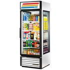 True GEM-23-LD White Glass End Merchandiser - 23 Cu. Ft.