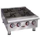 APW Wyott HHP-212 Heavy Duty 2 Burner Countertop 12