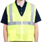 Lime Class 2 High Visibility Surveyor's Safety Vest - Medium