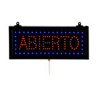 Aarco Rectangular Abierto Open LED Sign