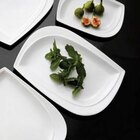 Aspen Tree Super White Porcelain Dinnerware