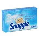 1.5 oz. Snuggle Blue Sparkle Liquid Fabric Softener Box for Coin Vending Machine - 100 / Case