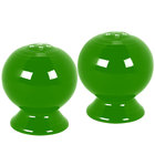 Homer Laughlin 497324 Fiesta Shamrock Salt and Pepper Set - 4/Case