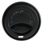Choice 10, 12, 16, and 20 oz. Black Hot Paper Cup Travel Lid - 1000 / Case