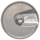 Hobart 15SLICE-7/32-SS 7/32 inch Stainless Steel Slicer Plate for FP150 and FP250 Food Processors
