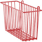 Metro H209-DF Flame Red Storage Basket for Wire Shelving 13 3/8 inch x 5 inch x 7 inch