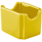 Hall China 30716320 Sunflower Colorations Sugar Packet Holder - 24/Case
