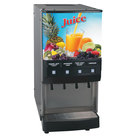 Bunn 37300.0054 JDF-4S Silver Series Four Flavor Cold Beverage System with LED Lighted Graphics