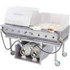 Bakers Pride CBBQ-30S-CP 30 inch Ultimate Outdoor Gas Charbroiler with Tank Caddy and Grill Cover Accessories