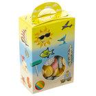 1-Piece 1/2 lb. Beach Window Candy Box 3 1/2 inch X 2 inch X 5 3/8 inch 250/Case